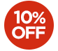 OFFER > 10% off selected products - The price displayed INCLUDES the 10% discount