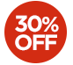 OFFER > 30% off selected products - The price displayed INCLUDES the 30% discount