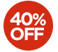 OFFER > 40% off selected essential products - The price displayed INCLUDES the 40% discount