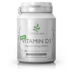 Vegetarian Vitamin D3 62.5ug