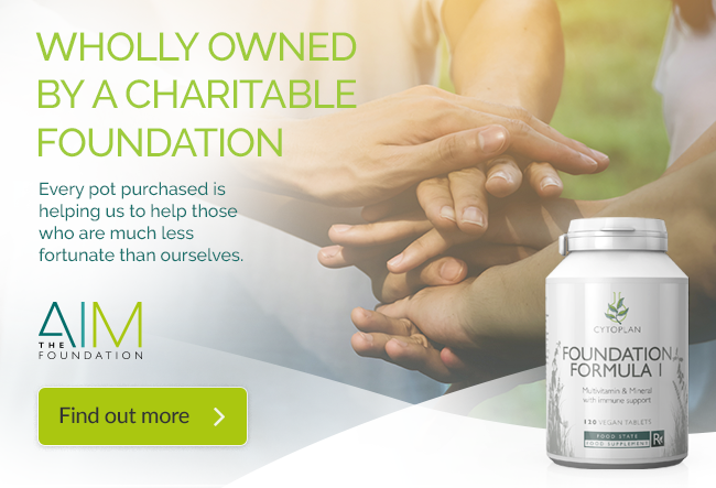 Cytoplan Charity The AIM Foundation