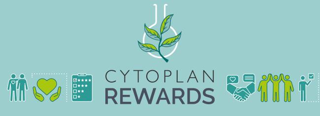 Cytoplan Rewards banner