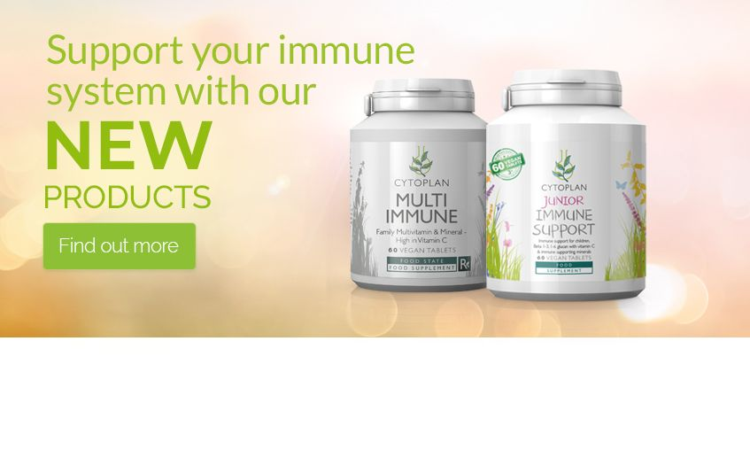 NEW Immune Health Supplements