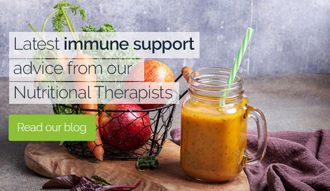 BLOG: Latest Nutrient Immune Advice