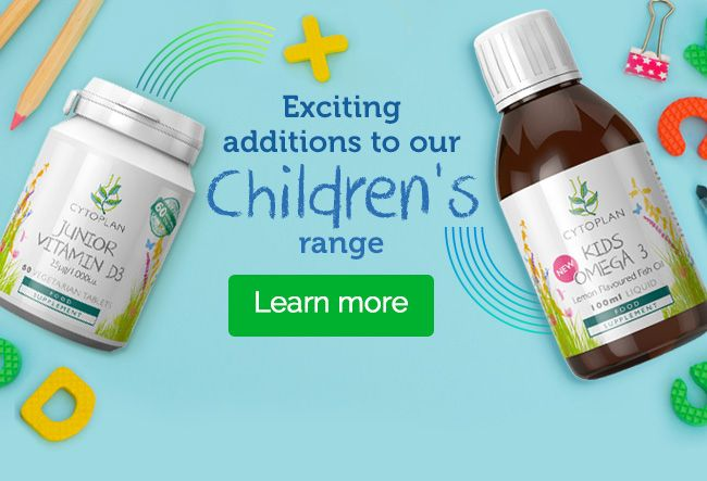 New kid's product range